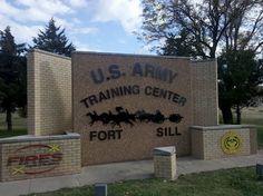 Fort Sill, Oklahoma-AIT