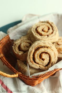 Cinnamon Roll Biscuits -- when you have no time or patience for yeast dough!