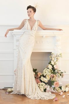 wedding dressses, yolancris, weddings, dresses, yolan cris wedding dress