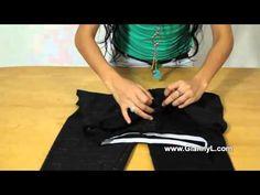 ▶ Como fazer um macacão Strapless - YouTube
