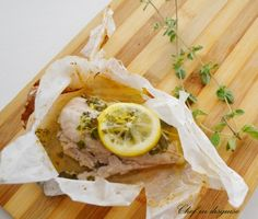 Cooking with Parchment paper! Oregano Chicken with Garlic Butter