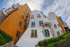 Artificial Intelligence - The Frank Gehry designed Stata Center on the MIT campus in Cambridge, Massachusetts.