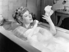 relaxing in a bubble bath - Google Search