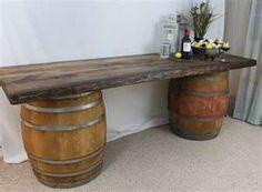 for antique wooden barrels