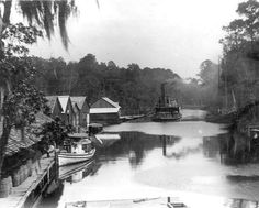 Florida Memory - Landing at Freeport on Fourmile Creek - Walton County, Florida