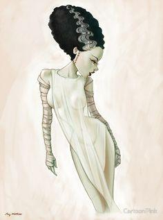 The Bride of Frankenstein - Amy Matthews