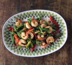 jumping the queue: garlicky stir-fried shrimp & green beans with fresh dill | Everybody Likes Sandwiches