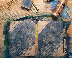 Creative Expressions: acrlic paint layering