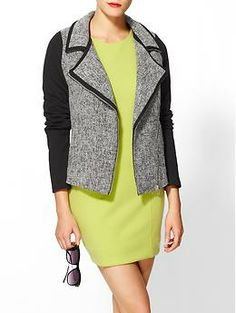 Tinley Road Tweed Moto Jacket | Piperlime