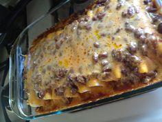 Chilli cheese dog casserole ! Yum!