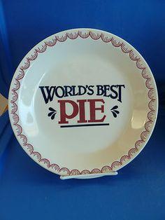World's Best PIE  Pie Plate