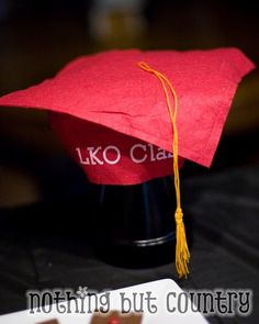 Lots of diy graduation party ideas can be found here.
