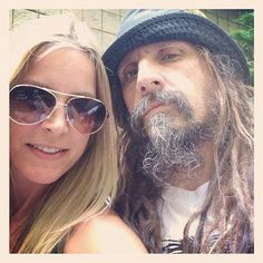 Sheri Moon and Rob Zombie