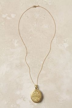 Victorian Engraved Locket #anthropologie #anthrofave