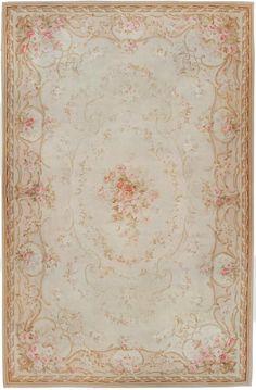 Antique Aubusson Carpet #45465  http://nazmiyalantiquerugs.com/antique-rugs/aubusson/