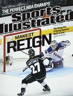 This Week's Cover (1 of 3): Make It Reign: The LAKings are a Rising Dynasty Built to Last king hockey, angel king, si cover, la king, hockey life