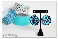 Duct Tape Earrings - Sugar Bee Crafts