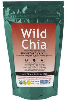 Wild Chia is 100% organic, non-GMO chia seeds.
