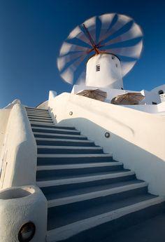 Santorini Oia Greece,By Alika