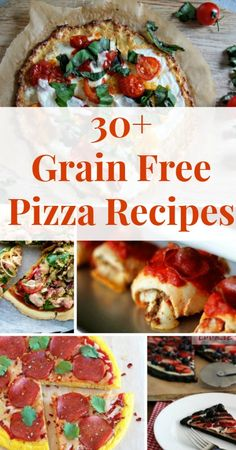 The Best Grain Free Pizza Recipes #grainfree #lowcarb