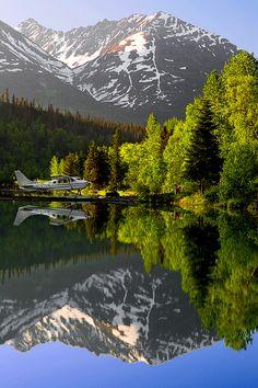 lake houses, chugach nation, mountain, airplanes, nation forest, beauti place, alaska, kenai peninsula, kenaipeninsula