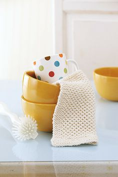 Knook Dishcloths Made with the Knook eBook - Leisure Arts