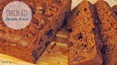 Summertime Cravings…. Chocolate Zucchini Bread ♡