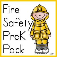 Fire Safety PreK Pack