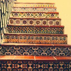 Beautiful Stair Risers