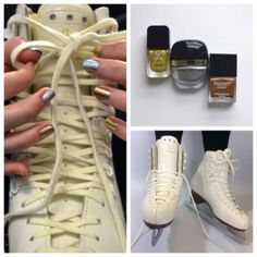 Skates? Check. Medal Mani? Check. We're ready for the games! Are you? #SephoraNailspotting #Sochi2014