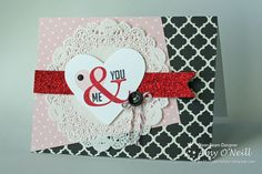 Stampin' Up! Valentine by Amy O'Neill, Amy's Paper Crafts