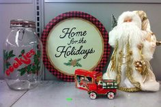 Thrifting Christmas - Vintage Holiday Decor from Goodwill