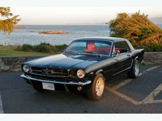1965 Ford Mustang Coupe. For sale in Victoria, BC.