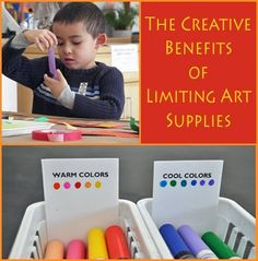 Encourage your children to do more with less while doing #crafts. Learn more in today's #LearningToolkit blog. Click for more.