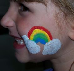 Simple Face Painting Pictures