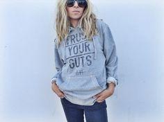 Trust Your Guts / sweatshirt
