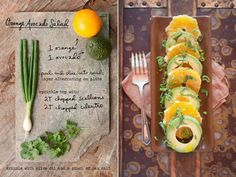 avocado salad, healthi eat, drink, citrus avocado, healthi food, oranges, orang avocado, salads