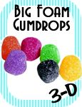Big Foam Props - gumdrops