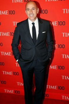 Matt Lauer at the Time 100 Gala at Jazz at Lincoln Center in New York on April, 29, 2014. (Jonathan D. Woods for TIME)