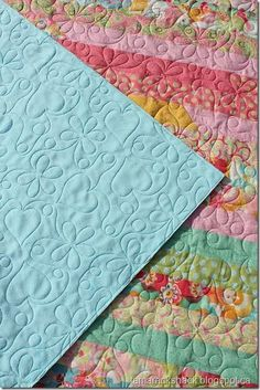 Tips for quilting with Minky and Cuddle fabrics (some tips specific to longarm quilters) | Tamarack Shack