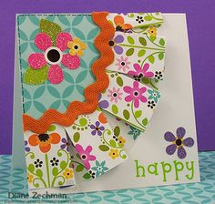 car accessories, card designs, paper, cardcar car, flower power, happy birthday cards, homemade cards, scrapbook, doodlebug cards