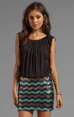 Now trending: Chic chevron