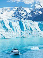 Pehoe Lake, Argentino Lake and Perito Moreno Glacier
