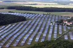 Solar park Germany.
