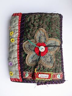 Fabric Journal by Phizzychick