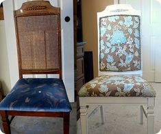 recovering a thrift store chair