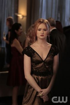 """""""Con Heir""""  GOSSIP GIRL  Pictured: Kaylee DeFer as Charlotte 'Charlie' Rhodes  PHOTO CREDIT:  GIOVANNI RUFINO/THE CW  © 2011 THE CW Network, LLC.  All Rights Reserved."""