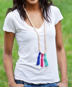 DIY Beaded Tassel Ne