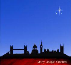 Old London skyline Peter Pan vinyl wall decal by circlewallart, £21.99