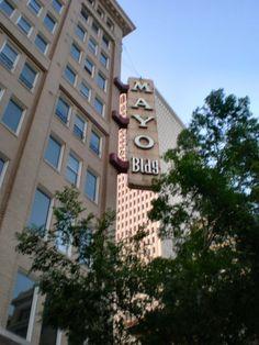 Mayo Building - Tulsa, OK #AIANTA #AITC2013 #Tulsa #AIANTAAPlains #OK #Oklahoma #Travel #IndianCountry #Explore #NativeAmerica #AmericanIndian #Tourism #Trip #DiscoverNativeAmerica www.aianta.org
